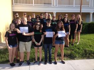 FSPA 2014 students
