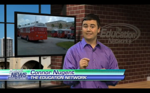 Connor Nugent Reporting on TEN 090814