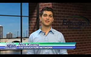 Nick Koenig Reporting on TEN 090214
